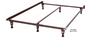 Twin/Full/Queen – The Rock™ Bed Frame – Style # 4650-G