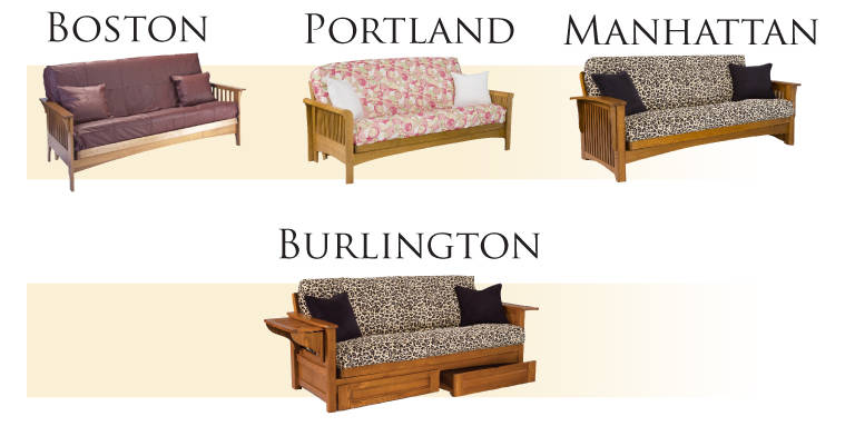 portland furniture west futon futons bedroom bedrooms