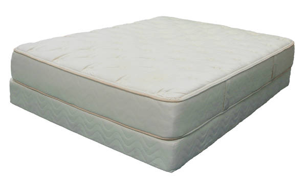 Nature's Cloud 100% Natural/Organic Mattress - Plush Latex