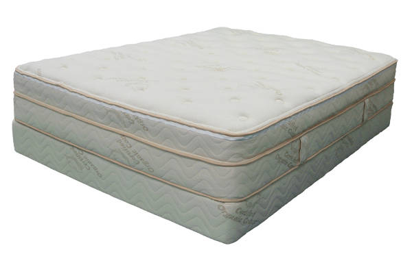 Nature's Cloud 100% Natural/Organic Mattress – Euro Top Latex