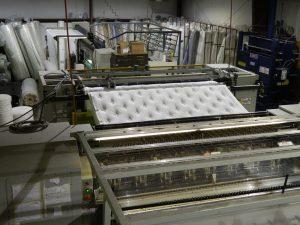 Inside Jamestown Mattress where quality mattresses are always made.